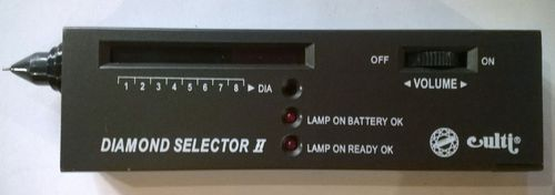Diamond Selector II-tester per diamanti